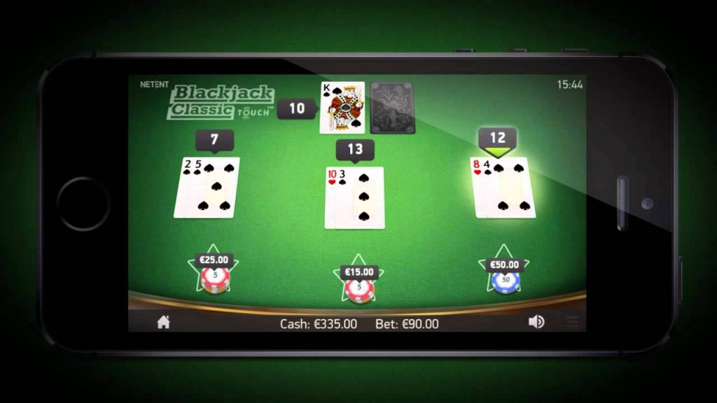 Mobile Blackjack Classic by Netent